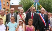 Inauguration festivités de la ducasse de Sin